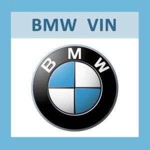sprawdzenie historia serwis przebieg BMW numer VIN